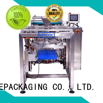 Keepac straight flow design packing machine for food products customized for standup pouch