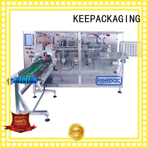 safe horizontal packing machine filler customized for food