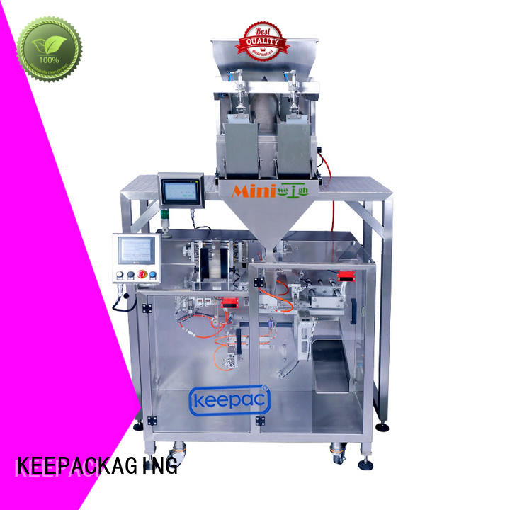 high quality powder pouch packing machine staight flow design wholesale for standup pouch