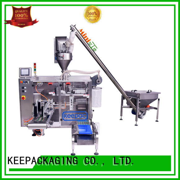 Keepac staight flow design seal packing machine manufacturer for food