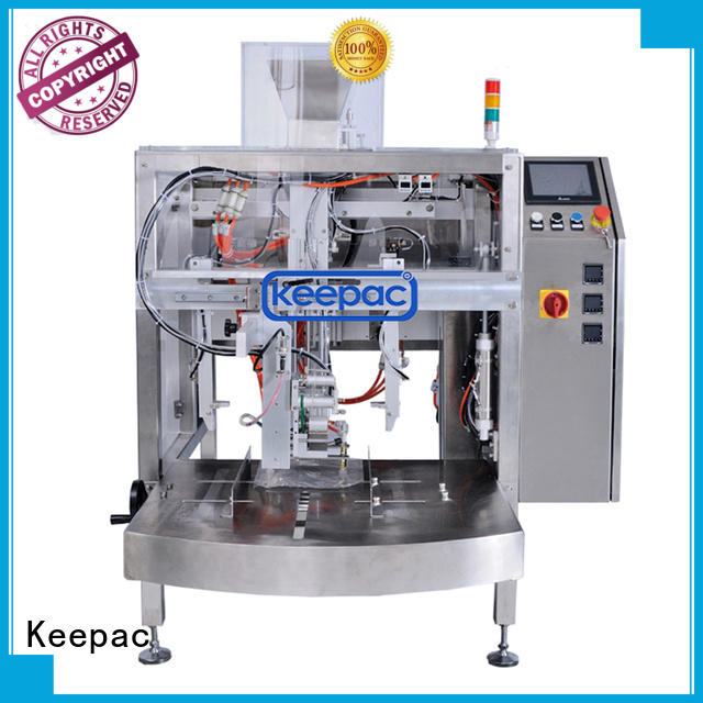 efficient snack food packaging machine mini customized for food