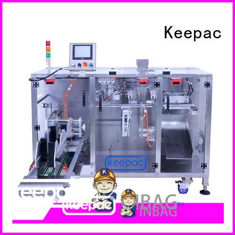 efficient powder packing machine linear supplier for zipper bag