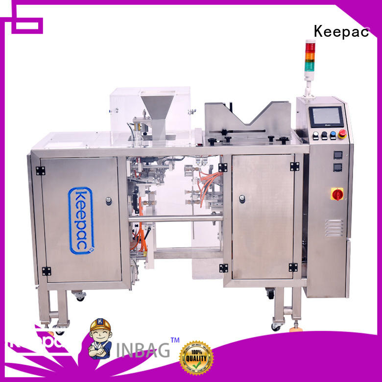 multi bag format noodles packing machine factory direct for pre-openned zipper pouch Keepac