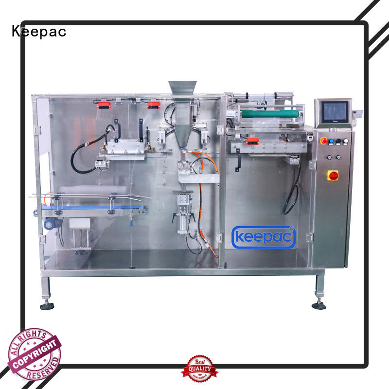 Keepac high quality horizontal packing machine factory for food