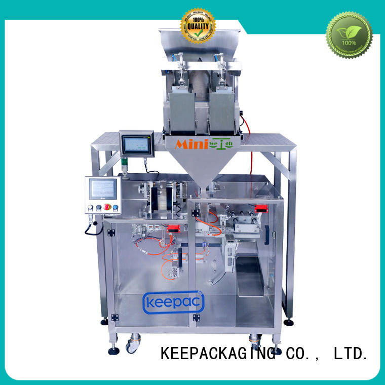 8 inches form fill seal machine manufacturer for standup pouch