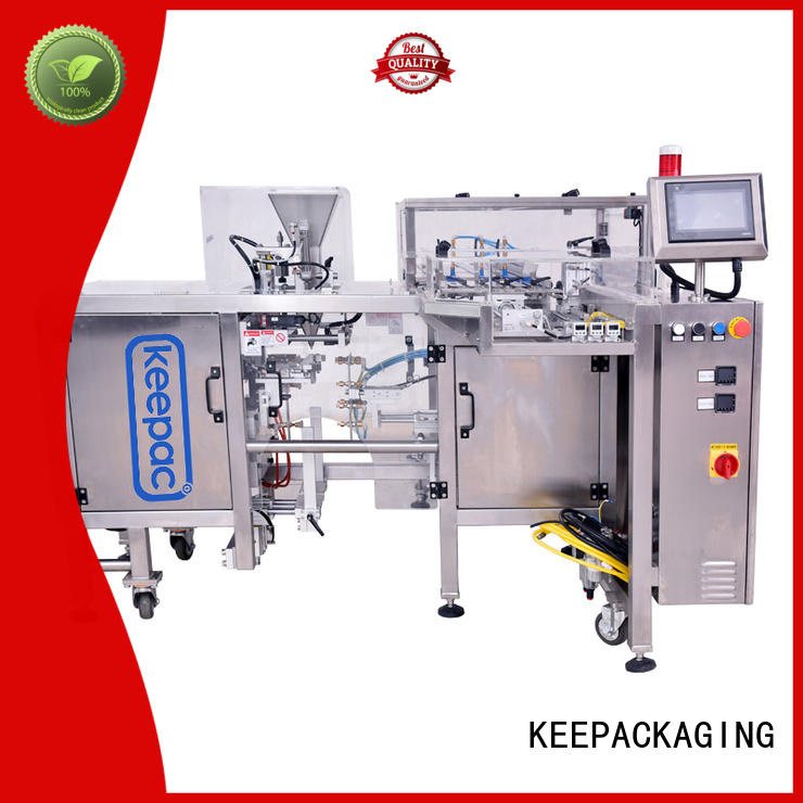 Top grain packing machine different sized for business for pre-openned zipper pouch