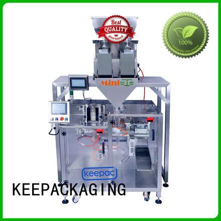 Keepac professional seal packing machine design for zipper bag