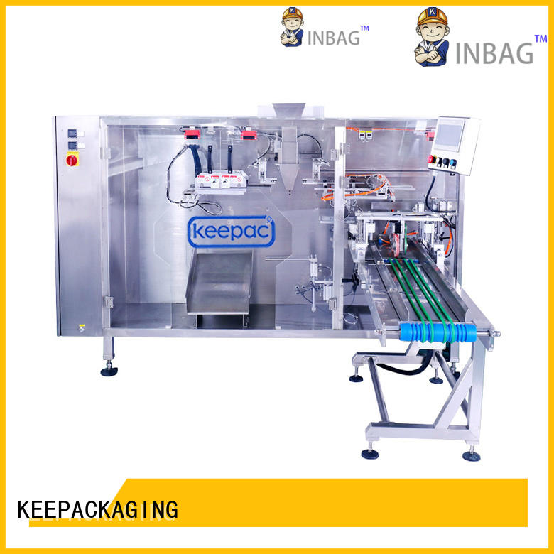 Keepac durable liquid pouch packing machine wholesale for zipper bag