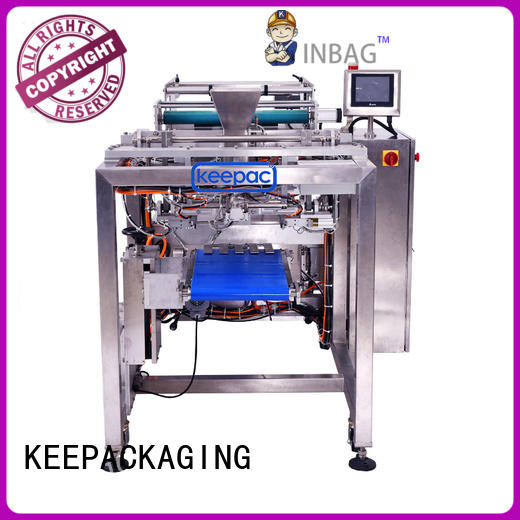 cost-effective auto packaging machine straight flow design factory direct for food