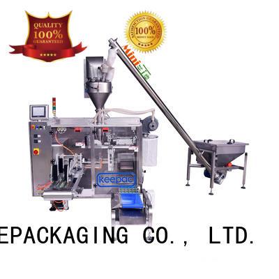 Keepac efficient pick fill seal machine supplier for zipper bag