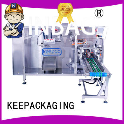 Keepac easy to clean liquid pouch packing machine manufacturer for standup bag