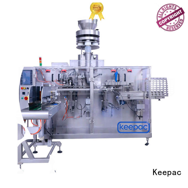 mini packaging machine spout linear machine Keepac Brand