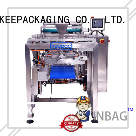 New auto packing machine minitube factory for zipper bag