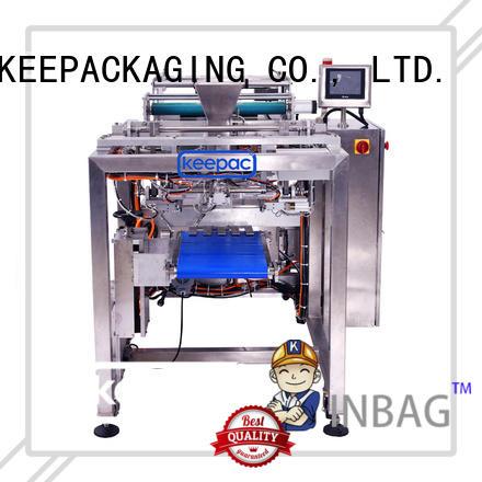 Keepac New auto packaging machine Suppliers for zipper bag
