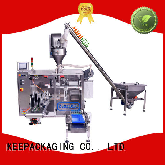 Keepac 8 inches horizontal form fill seal machine manufacturer for standup pouch