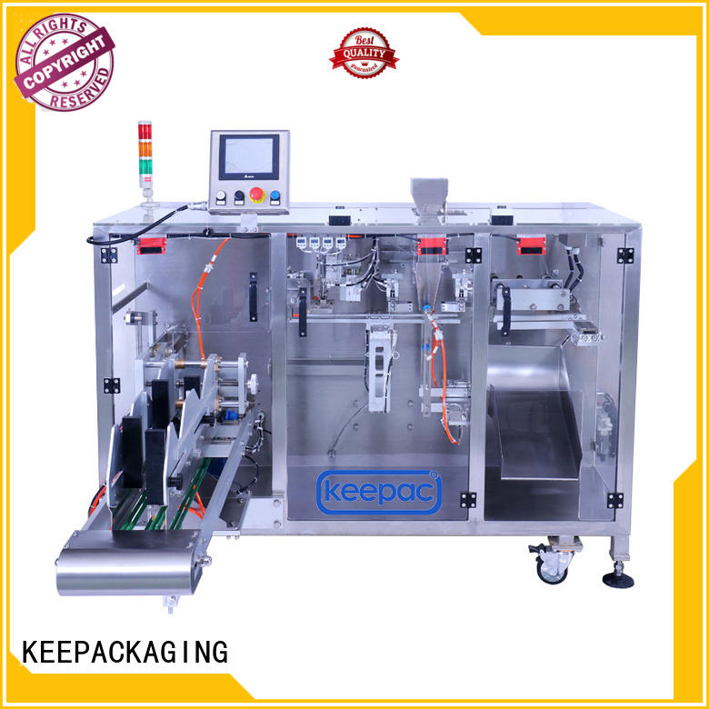 Keepac professional mini packing machine linear for food