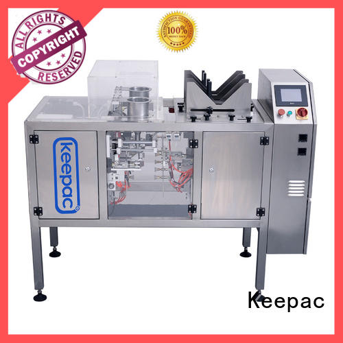 Keepac stainless steel 304 automatic grain packing machine Suppliers for pre-openned zipper pouch
