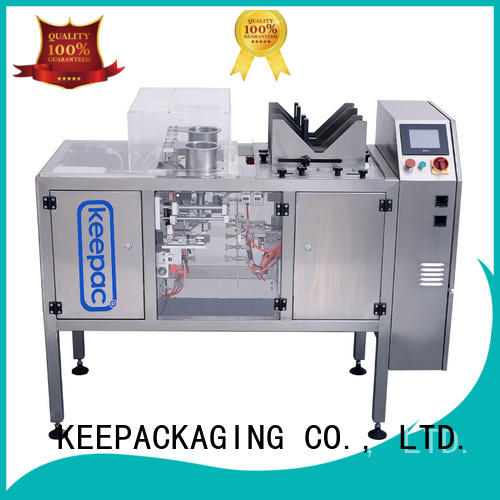 Keepac mini mini doypack machine factory direct for beverage