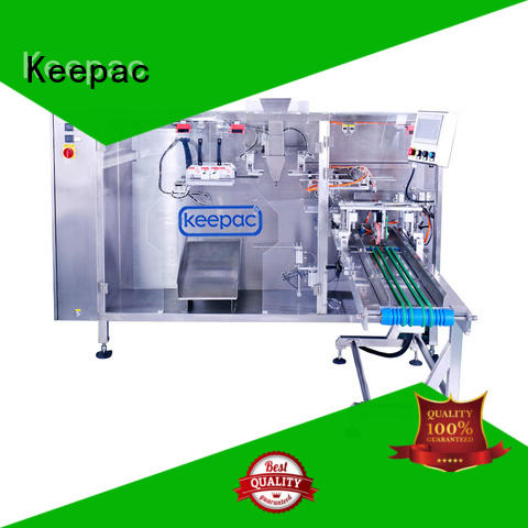 Keepac durable small pouch packing machine design for 3 sides sealed pouch