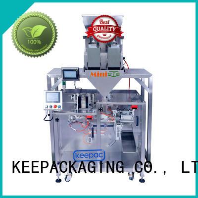 duplex seal packing machine supplier for zipper bag