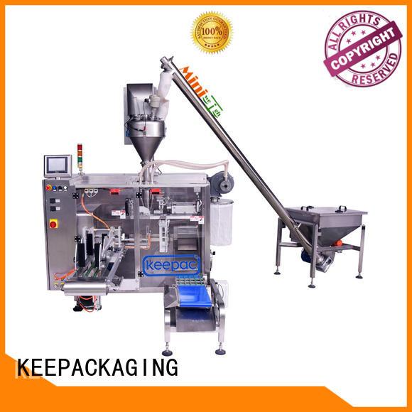 Keepac convenient powder packing machine supplier for standup pouch