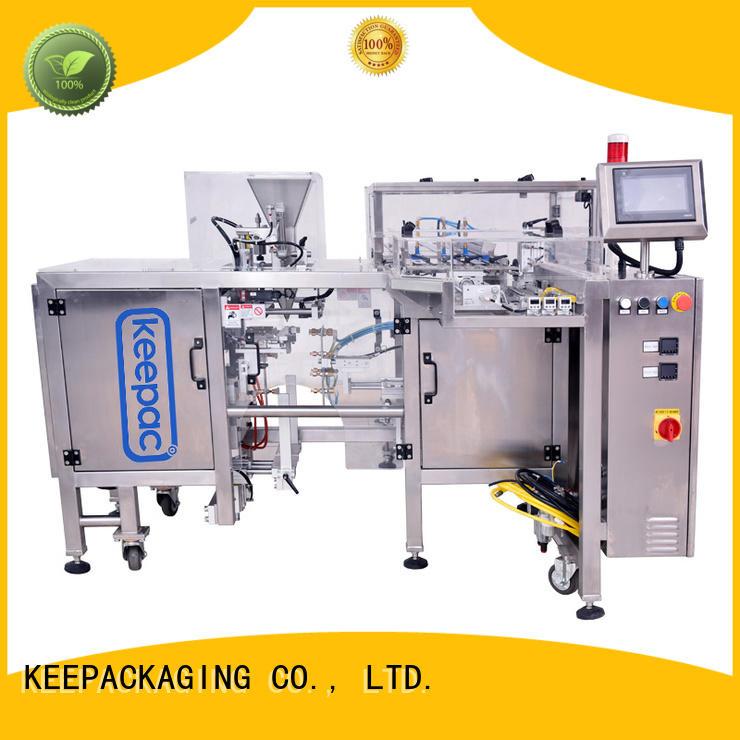 Keepac adjustable snack packaging machine wholesale for food