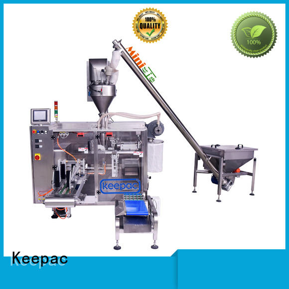 Keepac linear biscuit packing machine design for zipper bag
