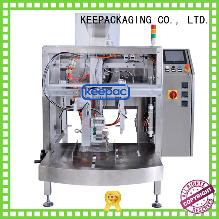 Keepac efficient doypack machine wholesale for food