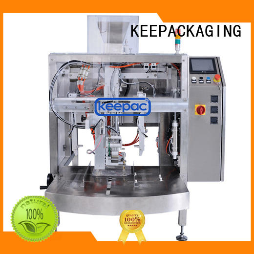 Keepac automatic doypack machine manufacturing for food