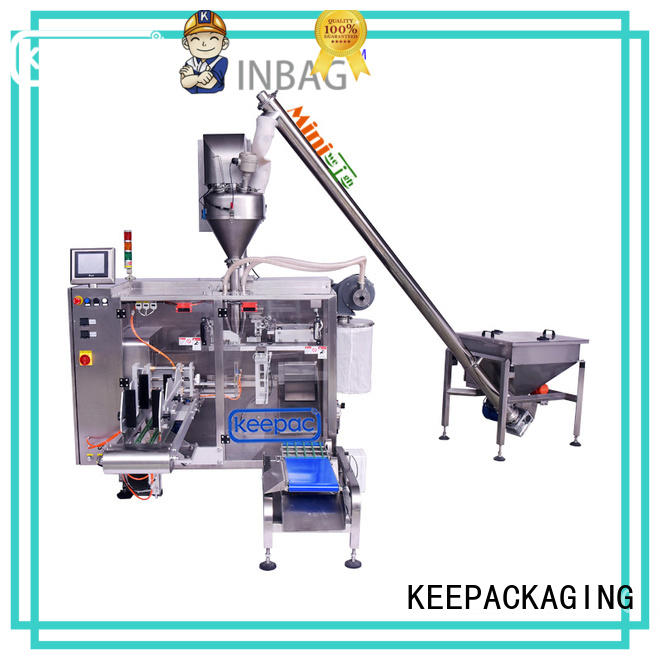 Keepac convenient pick fill seal machine manufacturer for food