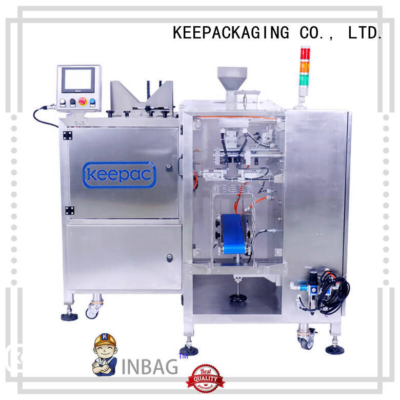 Keepac different sized grain packing machine wholesale for pre-openned zipper pouch