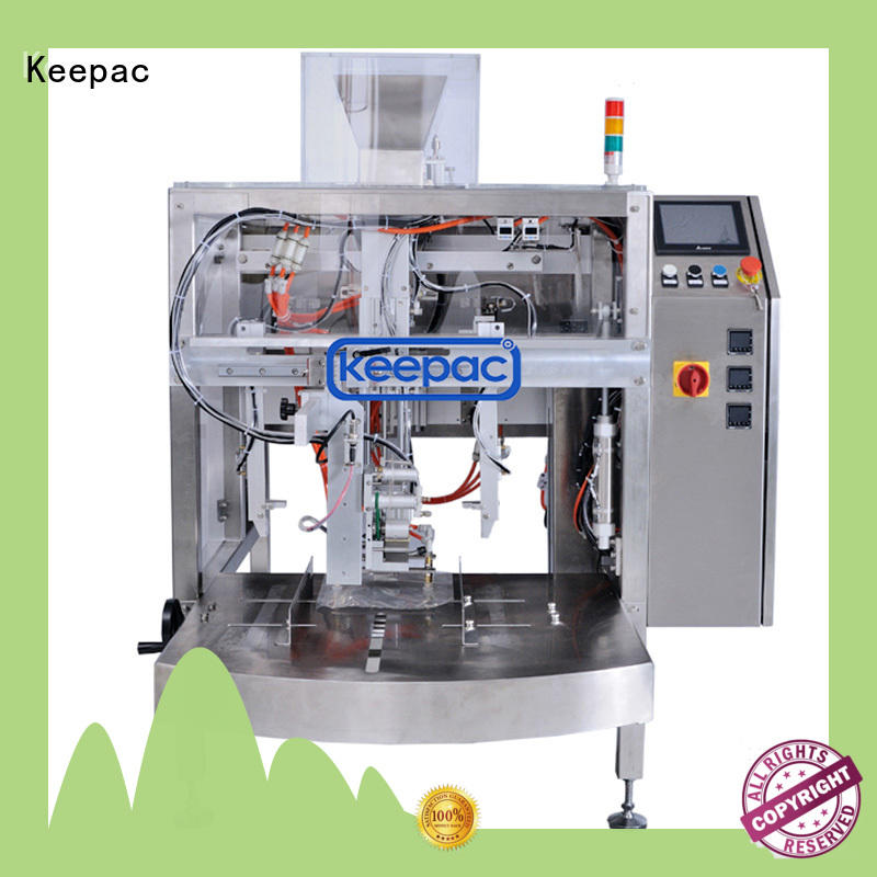Keepac Wholesale snack food packaging machine Suppliers for pre-openned zipper pouch