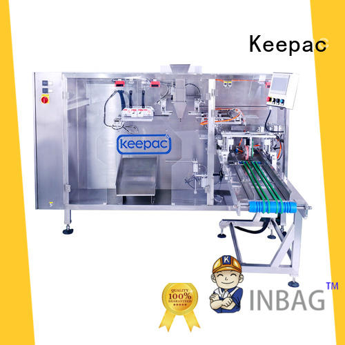 Latest plastic pouch packing machine easy to clean Suppliers for standup bag