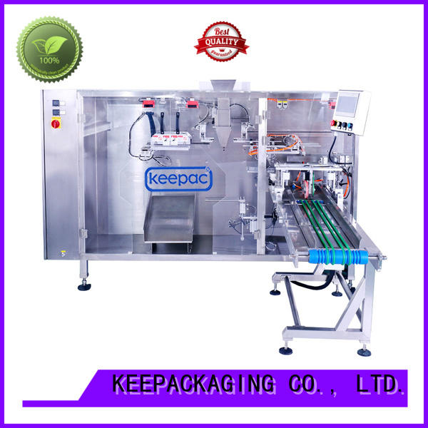 durable pouch packing machine 8 inches manufacturer for zipper bag