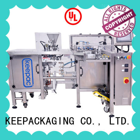 Keepac good price mini doypack machine customized for pre-openned zipper pouch