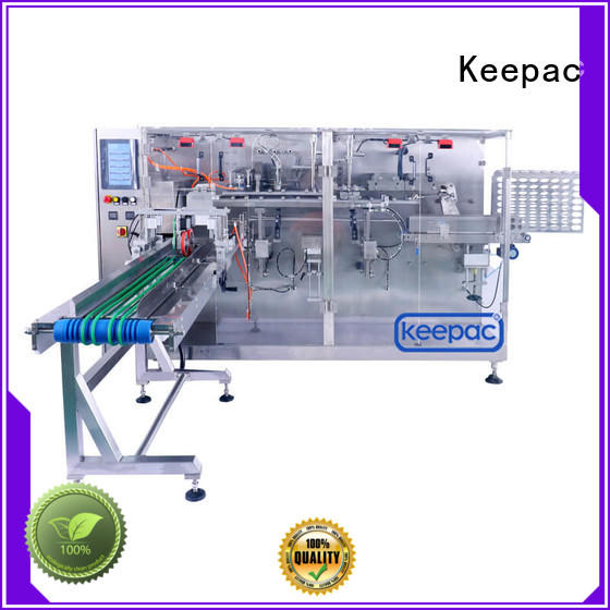 Keepac linear automatic chips packing machine customized for beverage