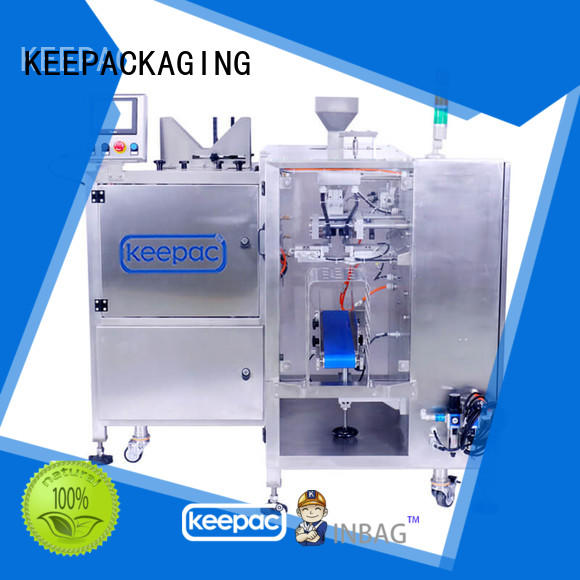 cost-effective automatic grain packing machine multi bag format customized for pre-openned zipper pouch