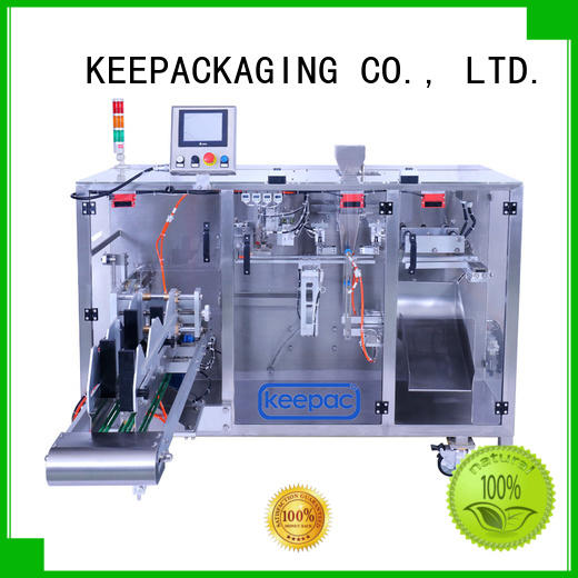 linear biscuit packing machine supplier for zipper bag Keepac
