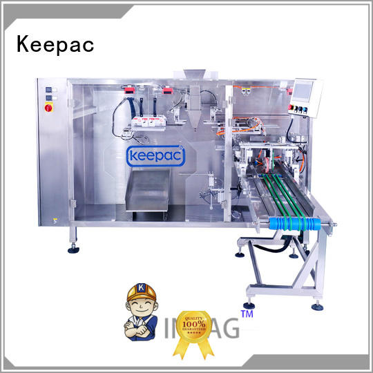 Keepac hot selling pouch packing machine design for standup bag