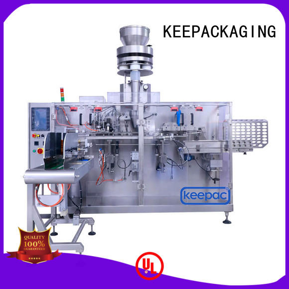 Keepac linear packaging machine design customized for commodity