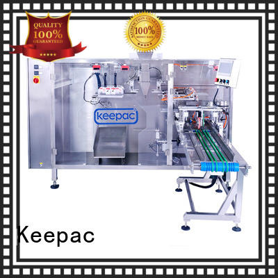 Keepac cost-effective stand pouch packing machine wholesale for 3 sides sealed pouch