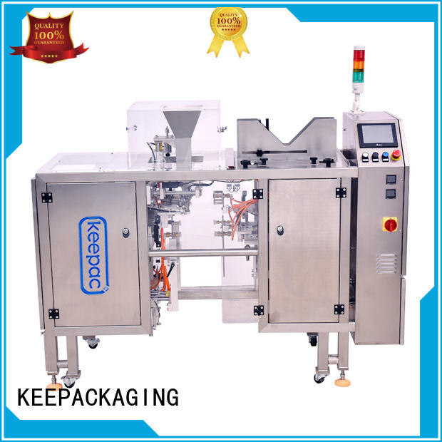 Keepac good price grain packing machine customized for pre-openned zipper pouch