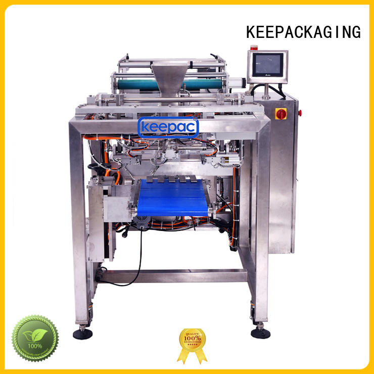 New rice packing machine straight flow design manufacturers for zipper bag