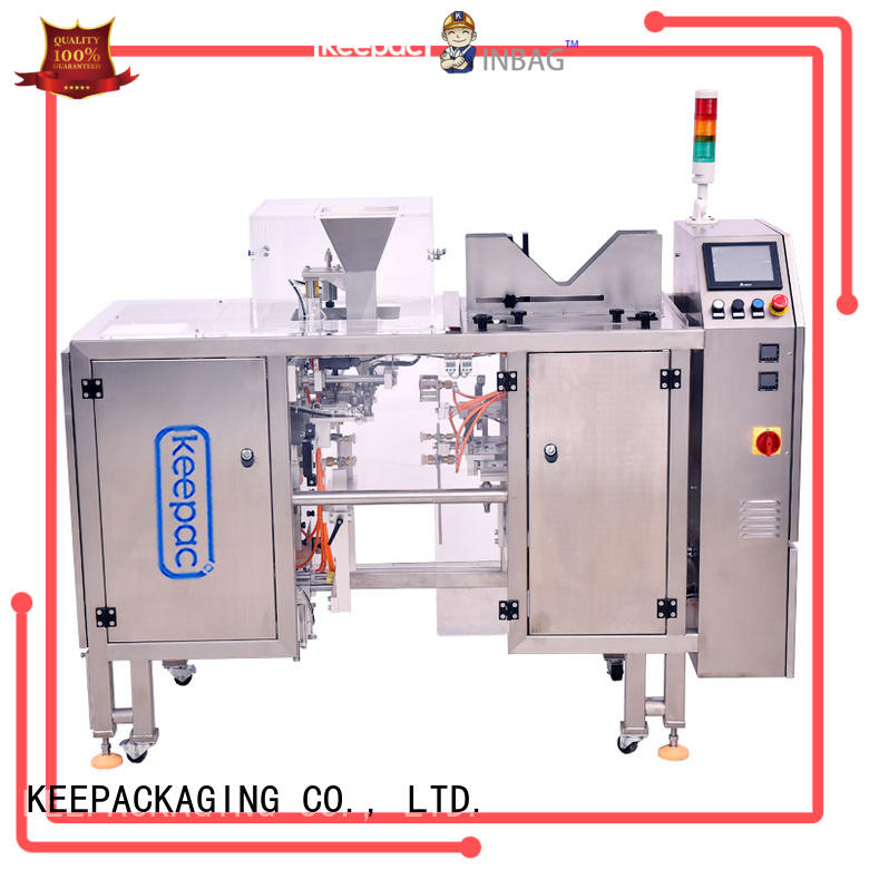 Keepac good price small food packaging machine factory direct for pre-openned zipper pouch