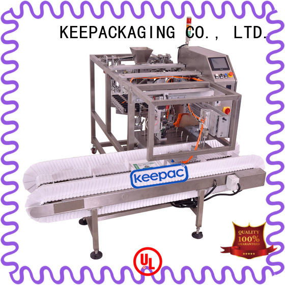 automatic snack food packaging machine different sized customized for pre-openned zipper pouch