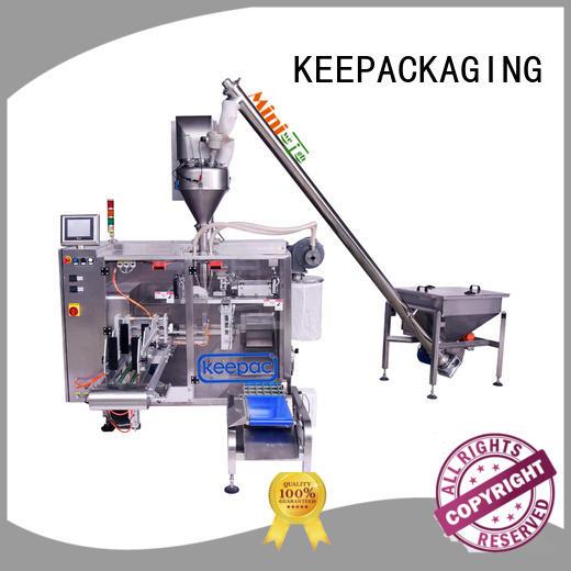 Keepac convenient powder pouch packing machine supplier for zipper bag