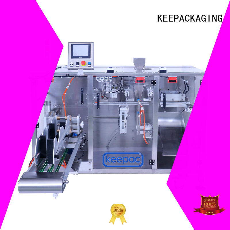 Keepac professional powder pouch packing machine wholesale for zipper bag