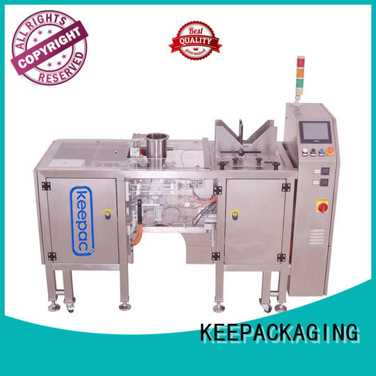 multi bag format product packaging machine wholesale for pre-openned zipper pouch Keepac