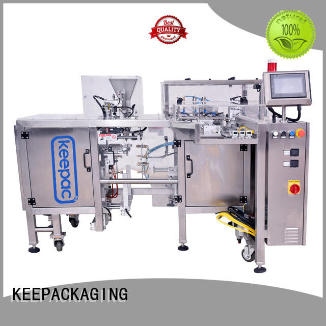 low cost automatic grain packing machine quick release factory direct for pre-openned zipper pouch