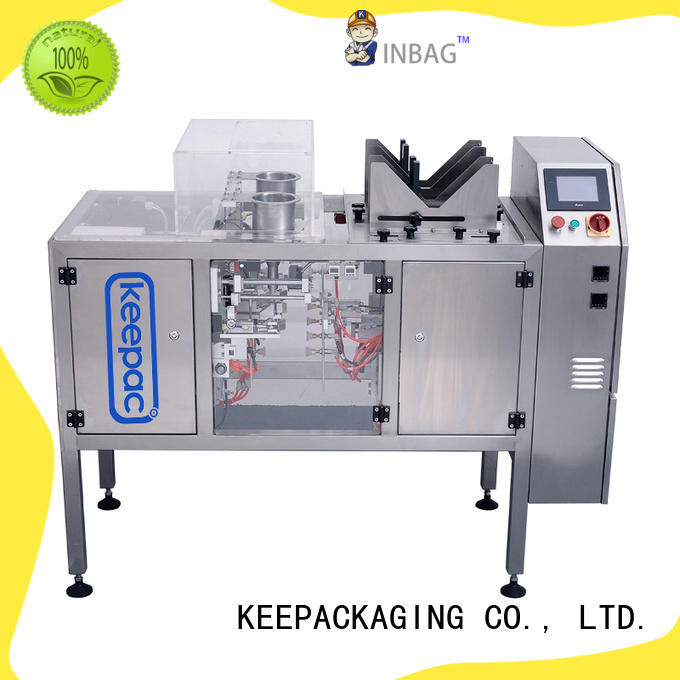 Keepac High-quality food packaging machine Supply for pre-openned zipper pouch
